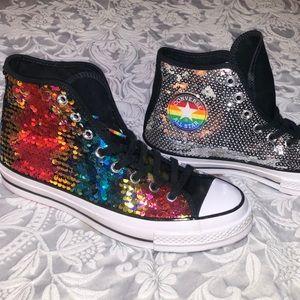 Converse Chuck Taylor HI-Top LGBTQ Pride Sequin